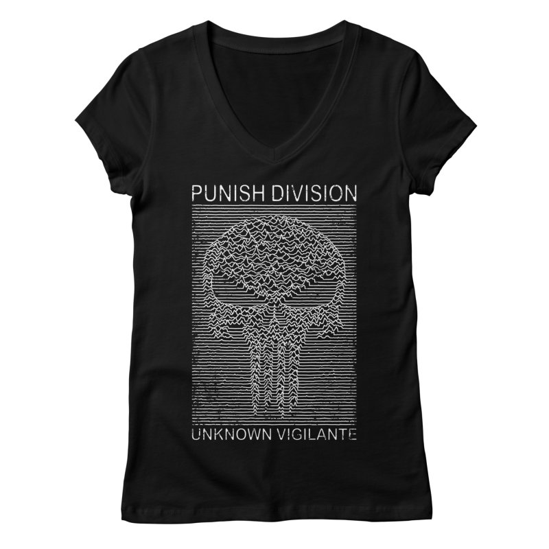 Unknown Vigilante Women's V-Neck by Pigboom's Artist Shop