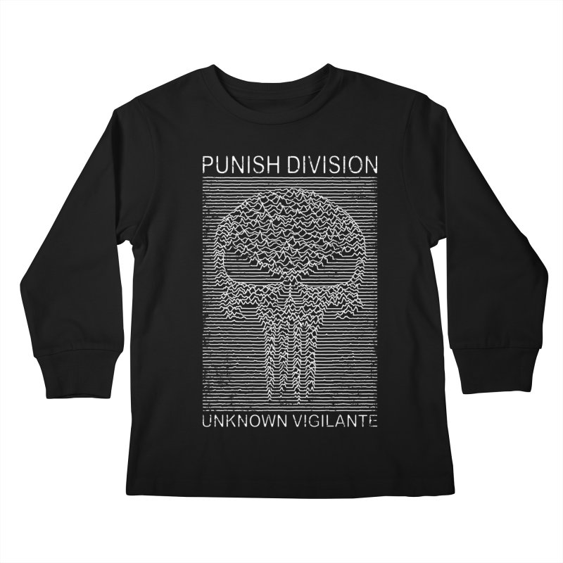 Unknown Vigilante Kids Longsleeve T-Shirt by Pigboom's Artist Shop