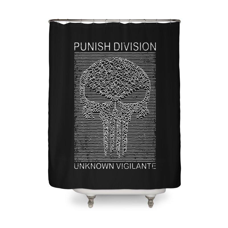 Unknown Vigilante Home Shower Curtain by Pigboom's Artist Shop