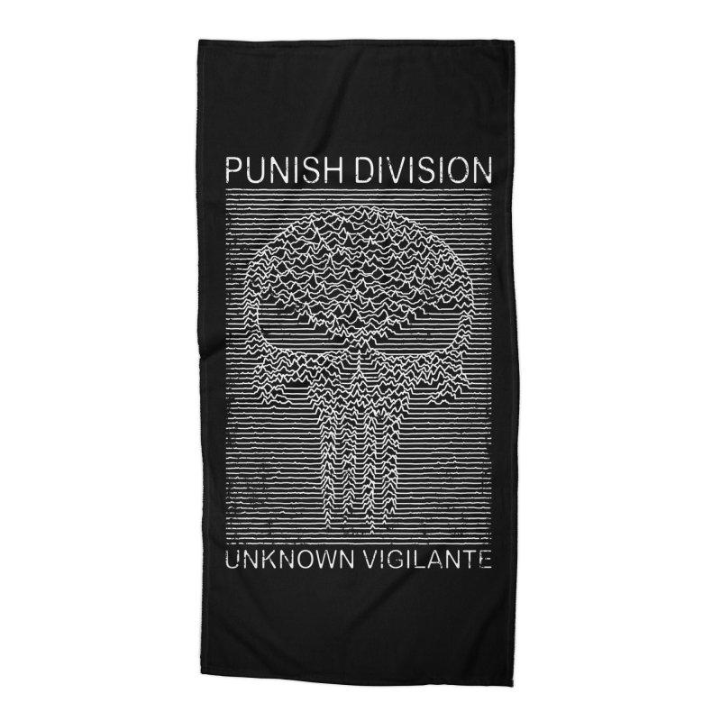 Unknown Vigilante Accessories Beach Towel by Pigboom's Artist Shop