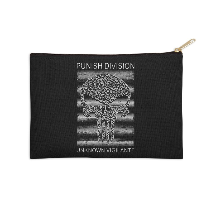 Unknown Vigilante Accessories Zip Pouch by Pigboom's Artist Shop