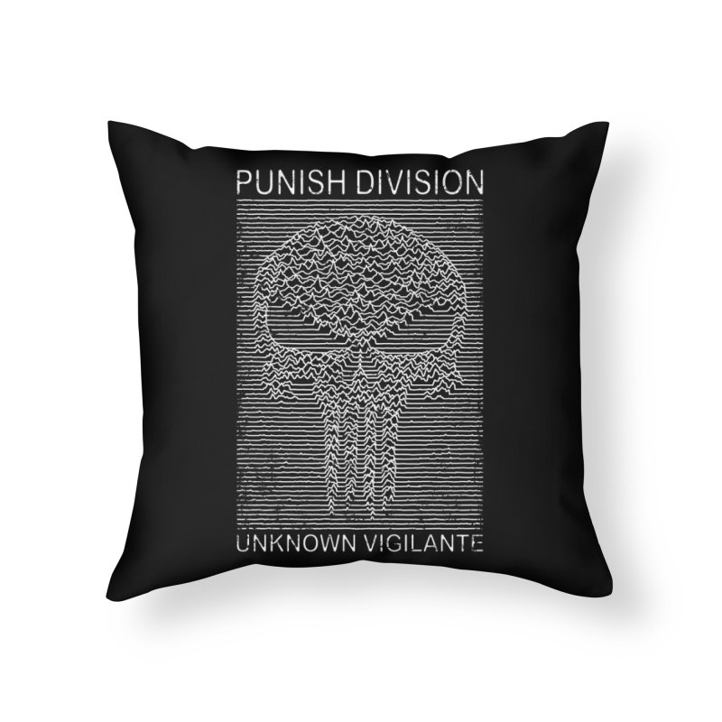 Unknown Vigilante Home Throw Pillow by Pigboom's Artist Shop