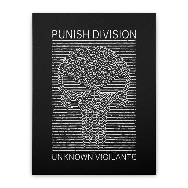 Unknown Vigilante Home Stretched Canvas by Pigboom's Artist Shop