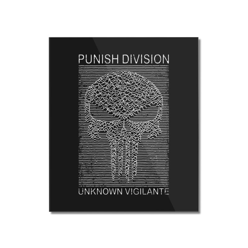 Unknown Vigilante Home Mounted Acrylic Print by Pigboom's Artist Shop