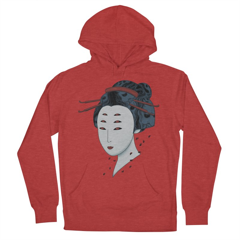 Floating with Demons Women's Pullover Hoody by Pigboom's Artist Shop