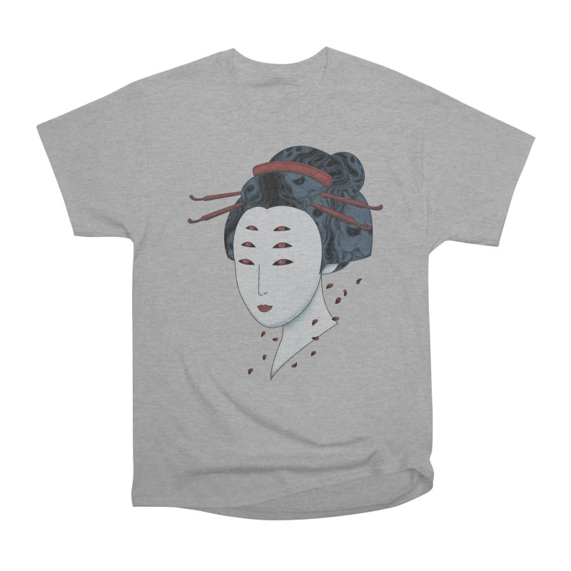 Floating with Demons Women's Heavyweight Unisex T-Shirt by Pigboom's Artist Shop
