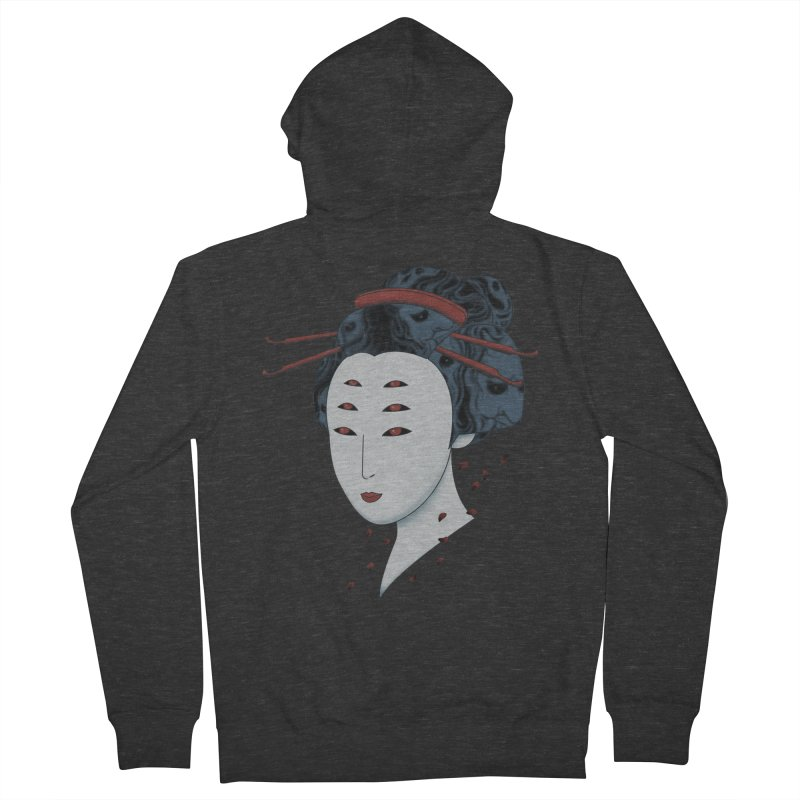 Floating with Demons Men's Zip-Up Hoody by Pigboom's Artist Shop