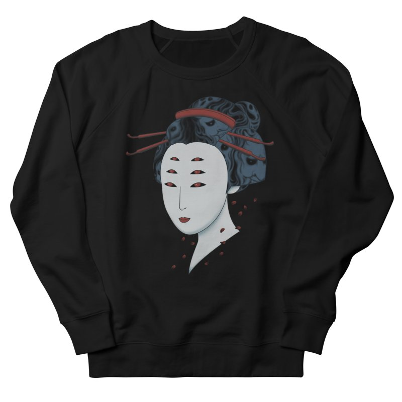 Floating with Demons Men's French Terry Sweatshirt by Pigboom's Artist Shop