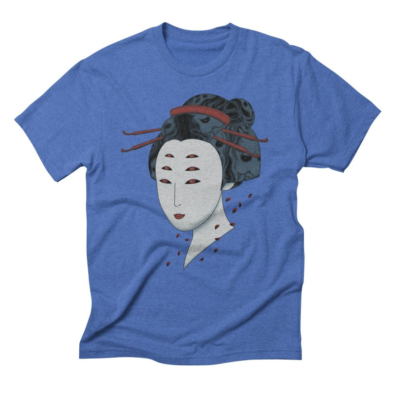 Floating with Demons Men's Triblend T-Shirt by Pigboom's Artist Shop