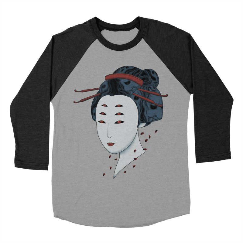 Floating with Demons Women's Baseball Triblend T-Shirt by Pigboom's Artist Shop