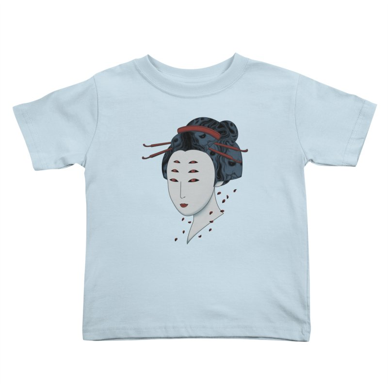 Floating with Demons Kids Toddler T-Shirt by Pigboom's Artist Shop