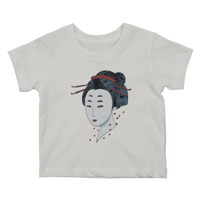 Floating with Demons Kids Baby T-Shirt by Pigboom's Artist Shop