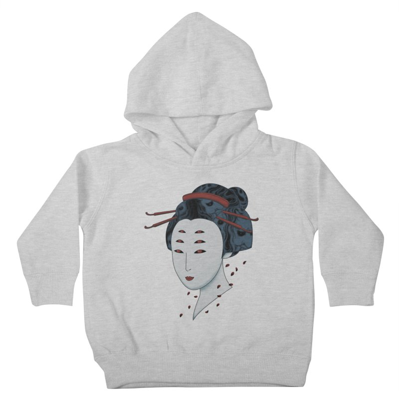 Floating with Demons Kids Toddler Pullover Hoody by Pigboom's Artist Shop