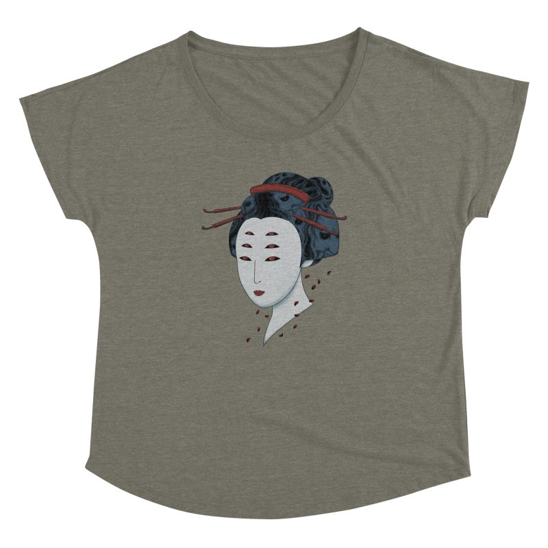 Floating with Demons Women's  by Pigboom's Artist Shop