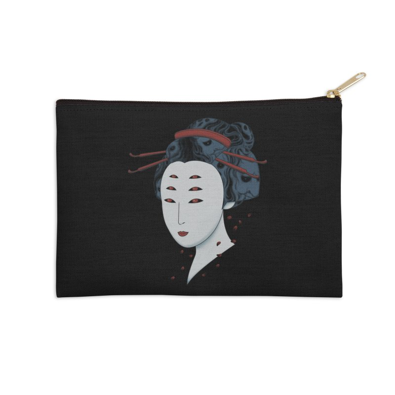 Floating with Demons Accessories Zip Pouch by Pigboom's Artist Shop