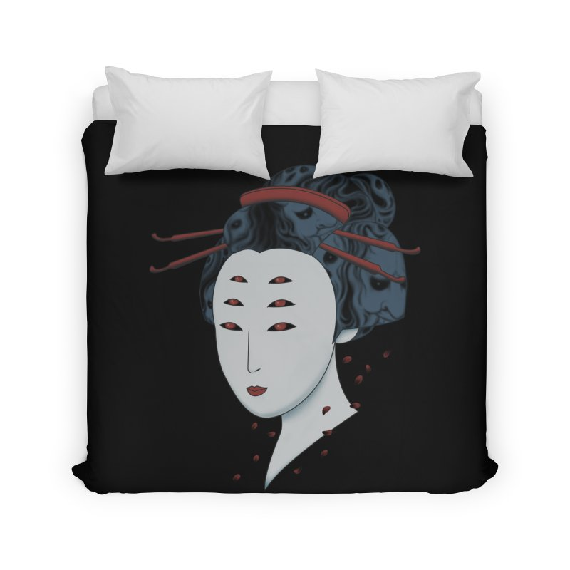 Floating with Demons Home Duvet by Pigboom's Artist Shop