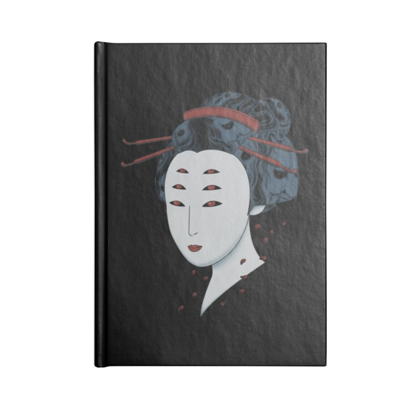 Floating with Demons Accessories Notebook by Pigboom's Artist Shop
