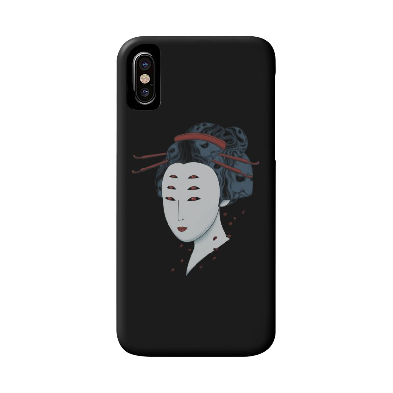 Floating with Demons Accessories Phone Case by Pigboom's Artist Shop