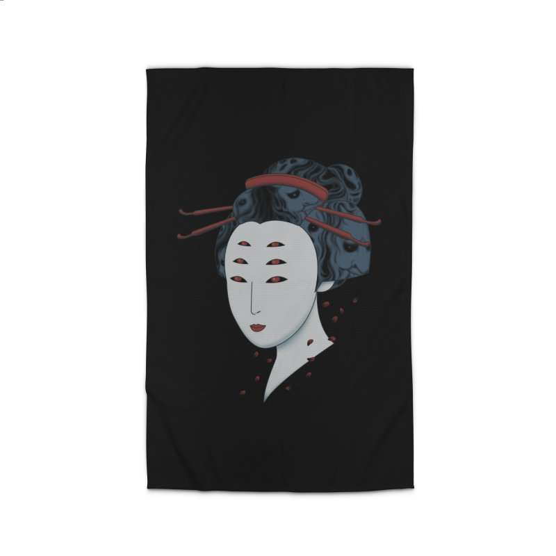 Floating with Demons Home Rug by Pigboom's Artist Shop