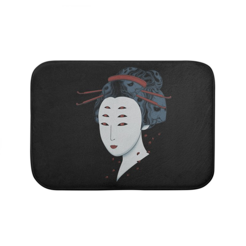 Floating with Demons Home Bath Mat by Pigboom's Artist Shop