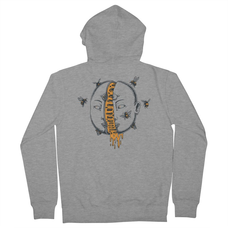 Divide Men's Zip-Up Hoody by Pigboom's Artist Shop