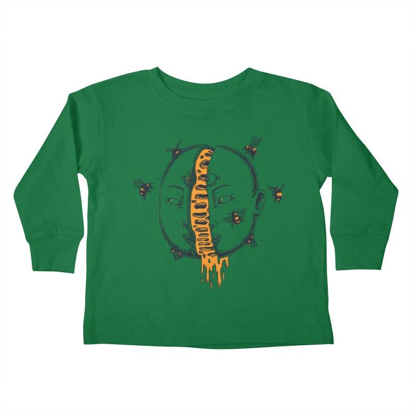 Divide Kids Toddler Longsleeve T-Shirt by Pigboom's Artist Shop