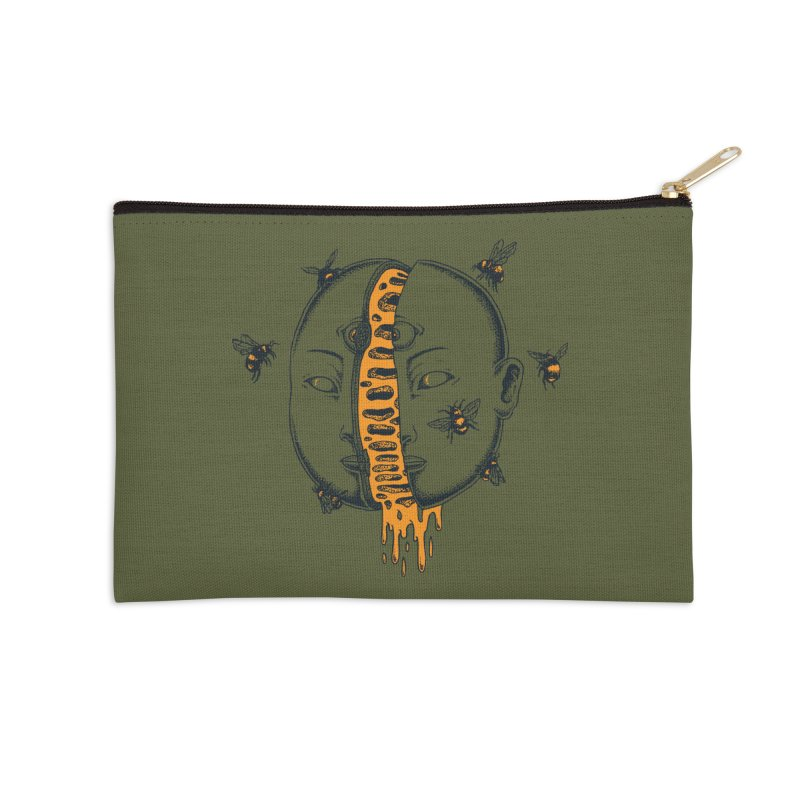 Divide Accessories Zip Pouch by Pigboom's Artist Shop