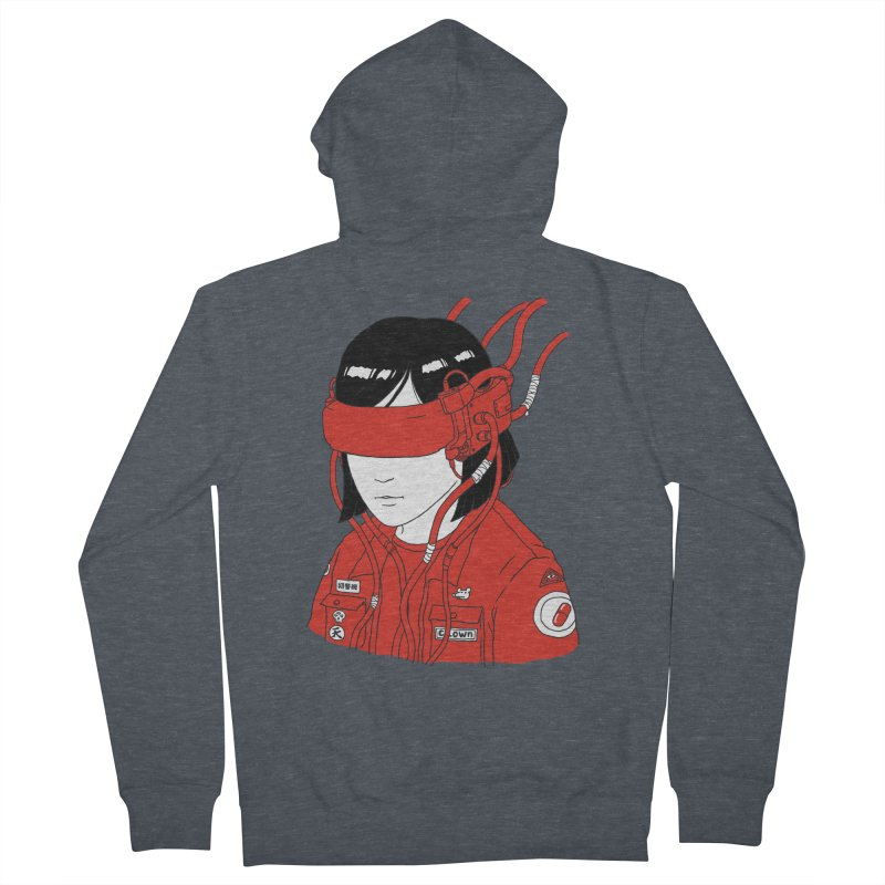 Escape Men's French Terry Zip-Up Hoody by Pigboom's Artist Shop