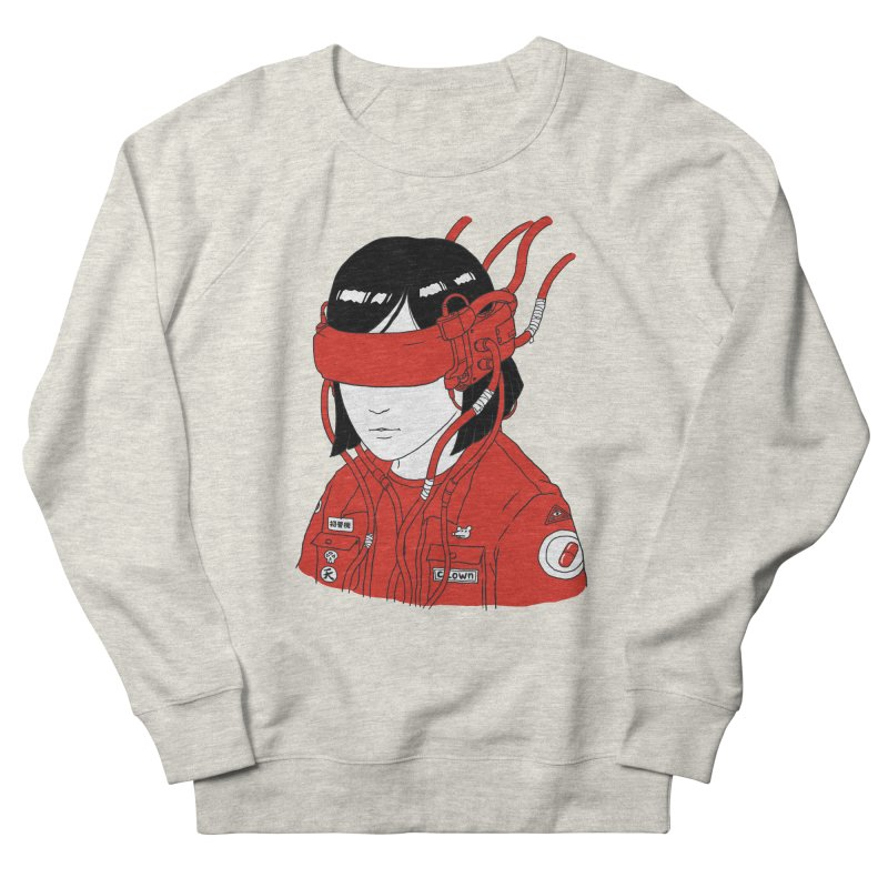 Escape Men's French Terry Sweatshirt by Pigboom's Artist Shop