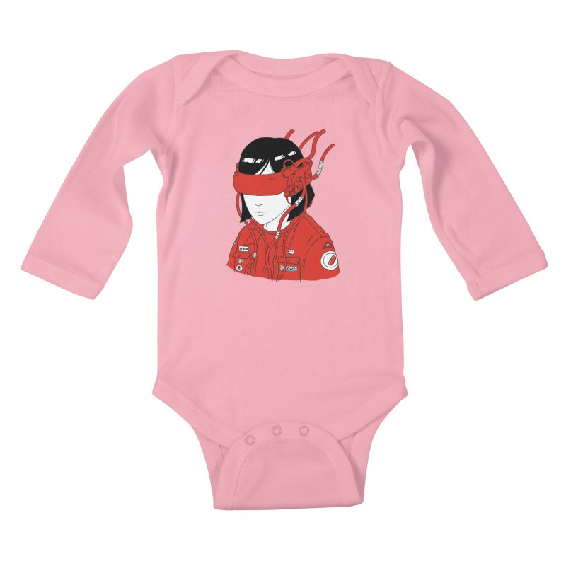 Escape Kids Baby Longsleeve Bodysuit by Pigboom's Artist Shop