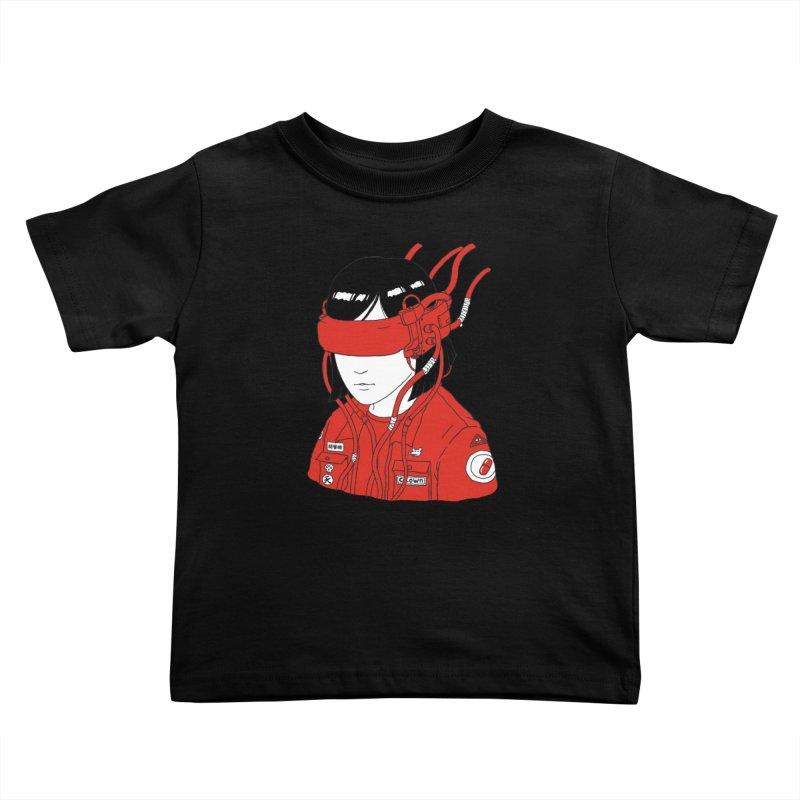 Escape Kids Toddler T-Shirt by Pigboom's Artist Shop