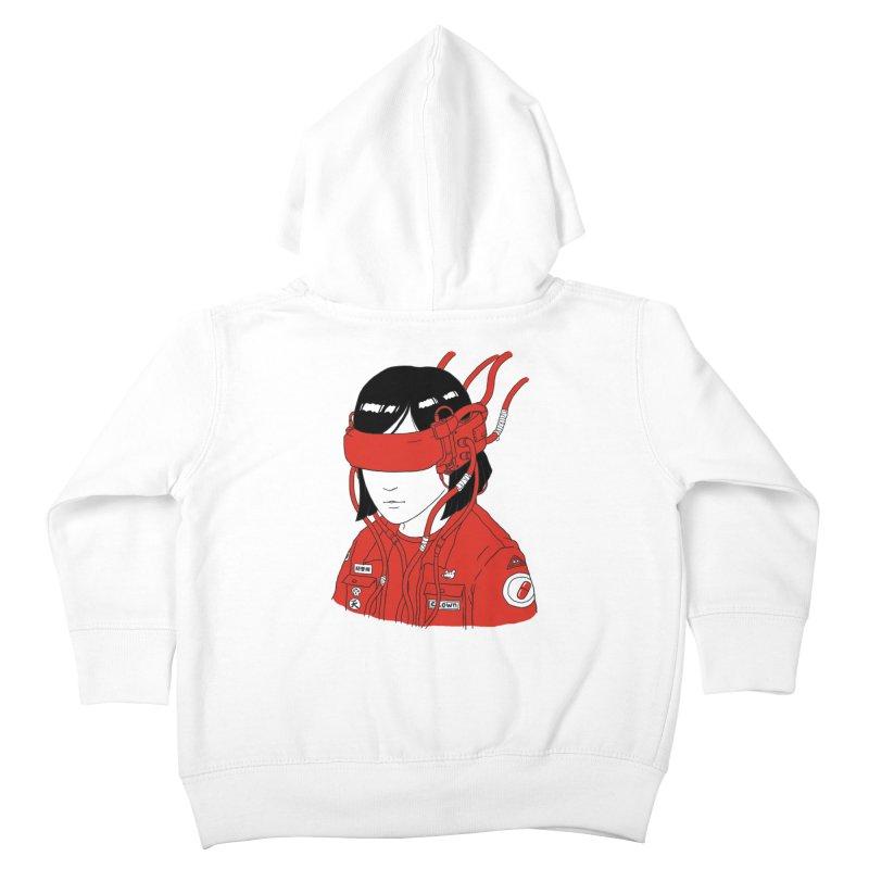 Escape Kids Toddler Zip-Up Hoody by Pigboom's Artist Shop