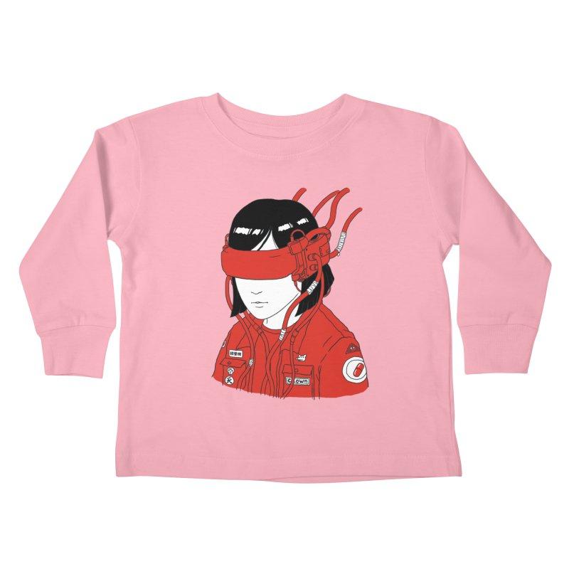 Escape Kids Toddler Longsleeve T-Shirt by Pigboom's Artist Shop