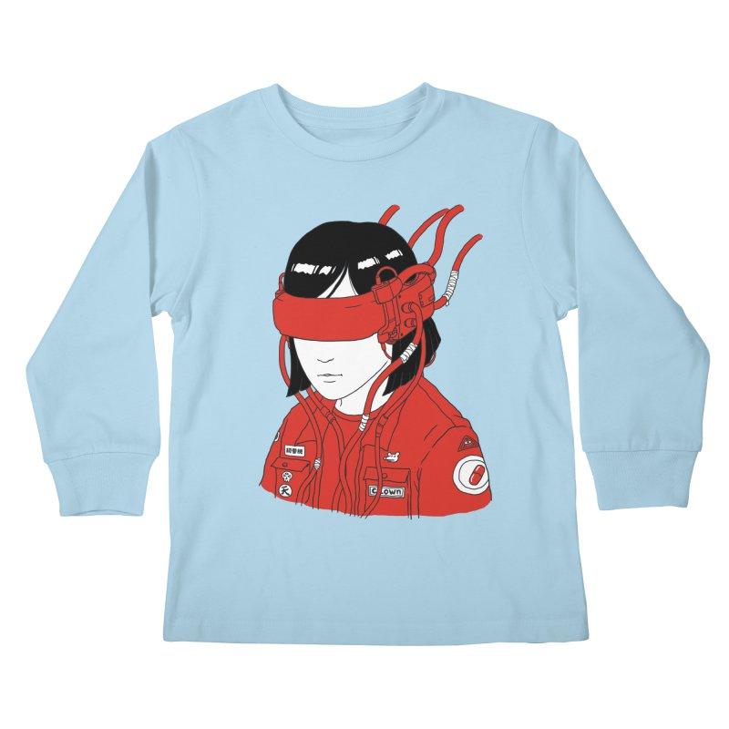 Escape Kids Longsleeve T-Shirt by Pigboom's Artist Shop