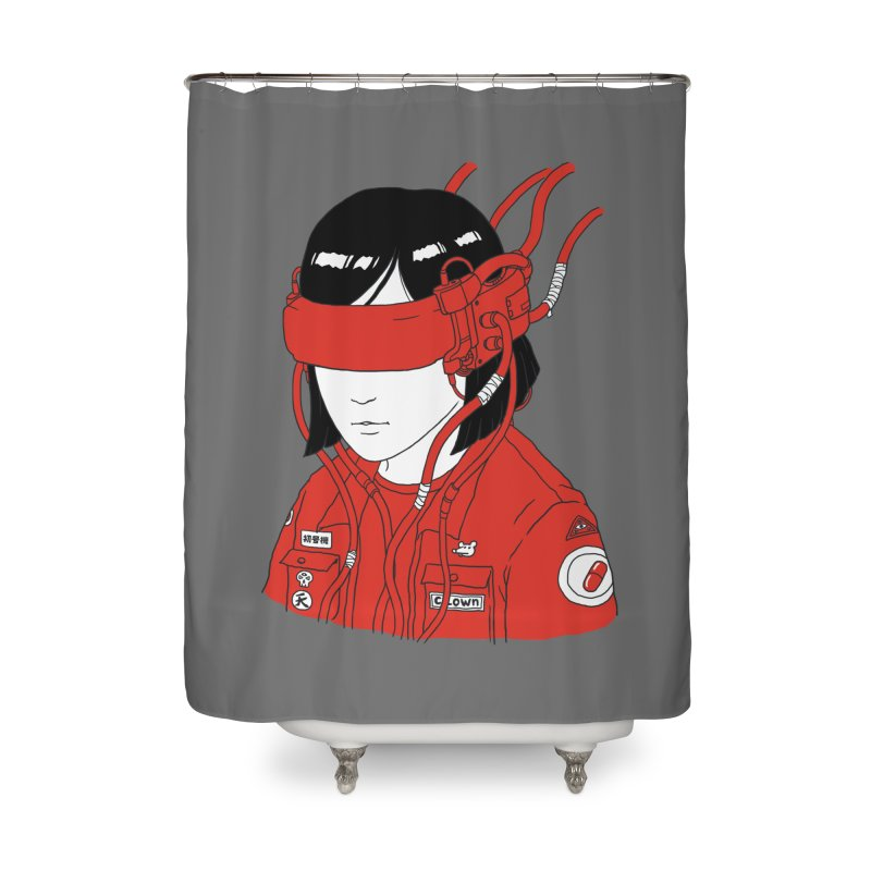 Escape Home Shower Curtain by Pigboom's Artist Shop