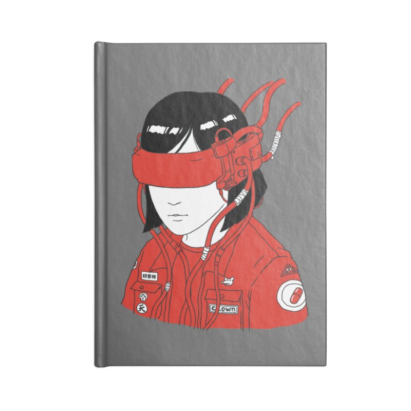 Escape Accessories Notebook by Pigboom's Artist Shop