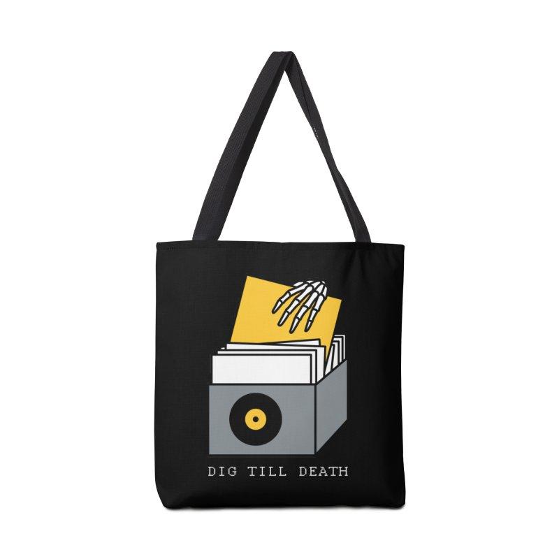Dig Till Death Accessories Bag by Pigboom's Artist Shop