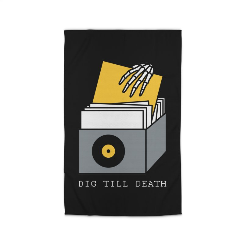 Dig Till Death Home Rug by Pigboom's Artist Shop