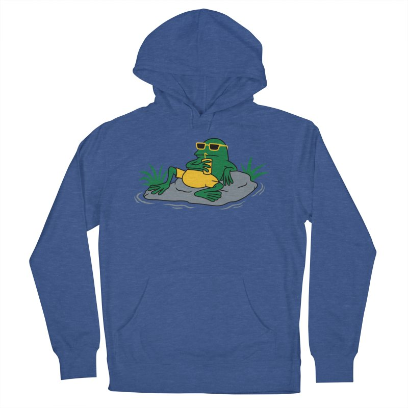 Pond Chillin Women's Pullover Hoody by Pigboom's Artist Shop