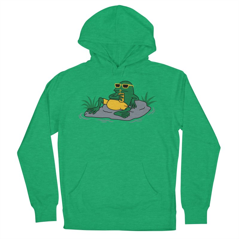 Pond Chillin Men's Pullover Hoody by Pigboom's Artist Shop