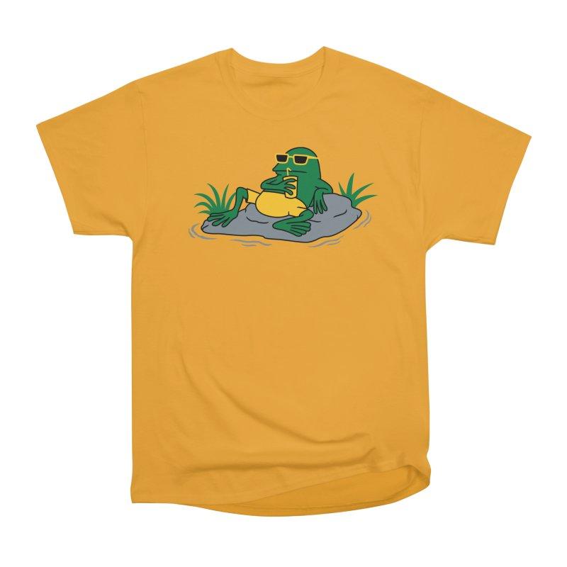 Pond Chillin Men's Heavyweight T-Shirt by Pigboom's Artist Shop