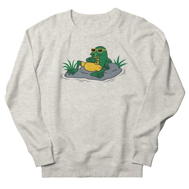 Pond Chillin Men's Sweatshirt by Pigboom's Artist Shop