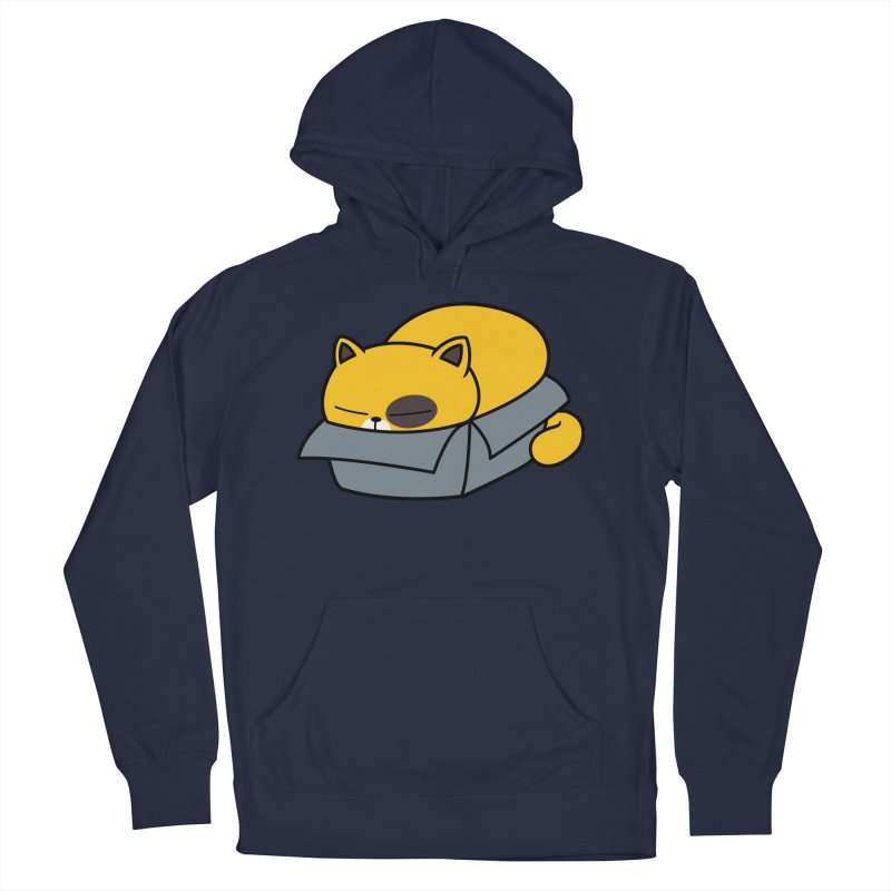 Fat can Fit Men's French Terry Pullover Hoody by Pigboom's Artist Shop