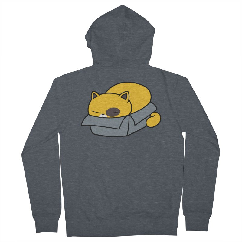 Fat can Fit Men's French Terry Zip-Up Hoody by Pigboom's Artist Shop