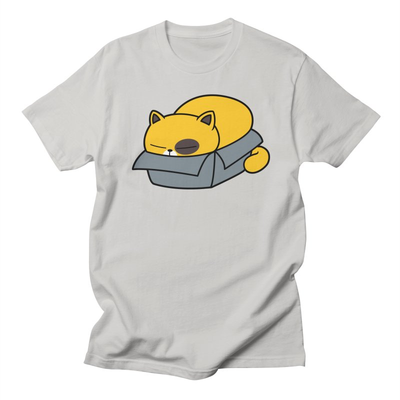 Fat can Fit Men's T-Shirt by Pigboom's Artist Shop