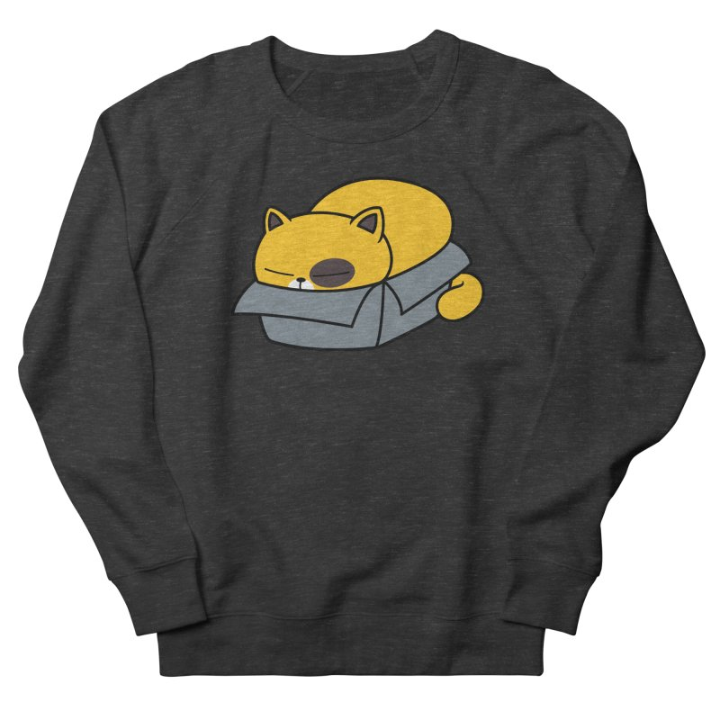 Fat can Fit Men's French Terry Sweatshirt by Pigboom's Artist Shop