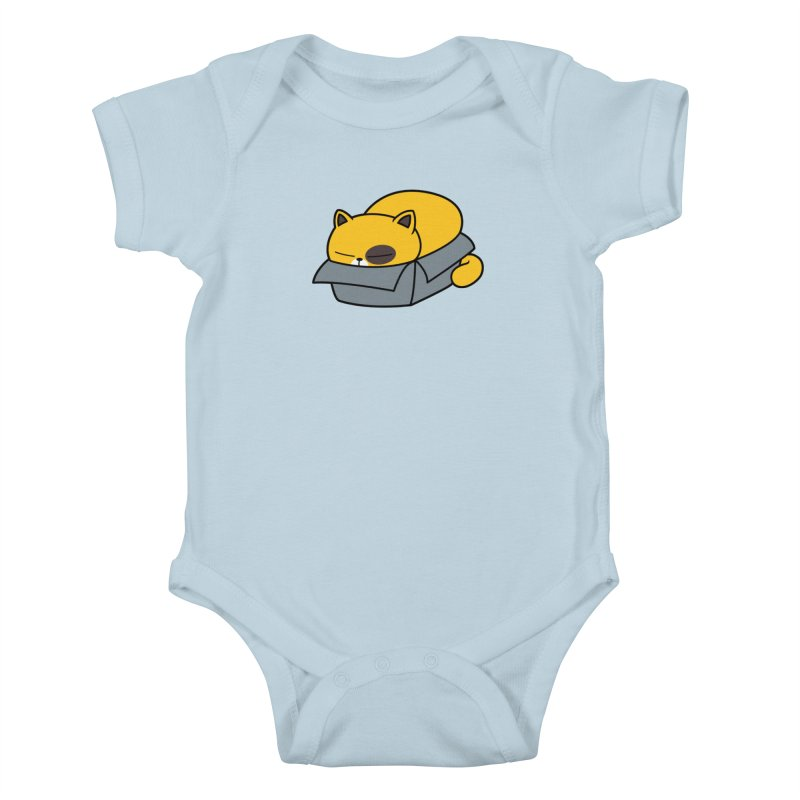 Fat can Fit Kids Baby Bodysuit by Pigboom's Artist Shop