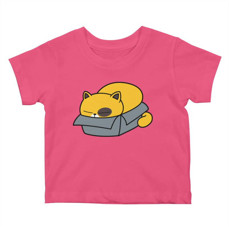 Fat can Fit Kids Baby T-Shirt by Pigboom's Artist Shop