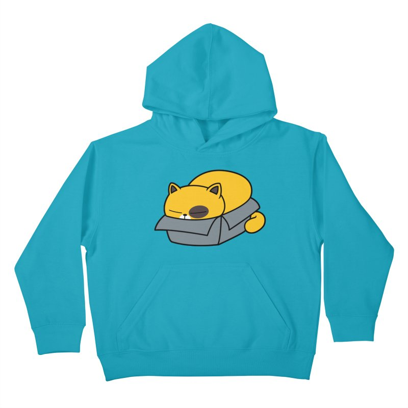 Fat can Fit Kids Pullover Hoody by Pigboom's Artist Shop