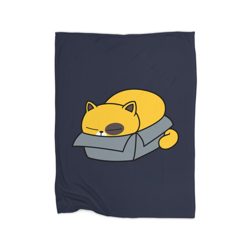 Fat can Fit Home Fleece Blanket by Pigboom's Artist Shop